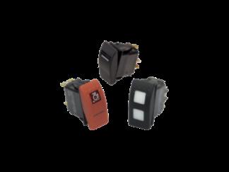Interruptores y pulsadores estancos